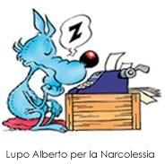 Lupo Alberto per la Narcolessia