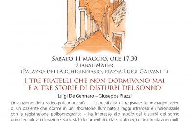 FESTIVAL DELLA SCIENZA di Bologna, Sabato 11 Maggio 2019
