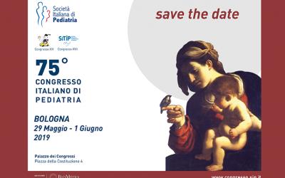 29/5 – 01/06 Congresso SIP Società Italiana Pediatria – Si parlerà anche di Narcolessia e Red Flags
