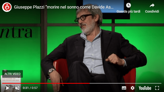 Video Intervista Plazzi Roma InConTra
